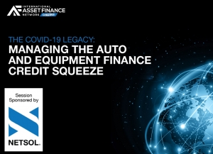 COVID-19 legacy: managing the auto and equipment finance liquidity squeeze