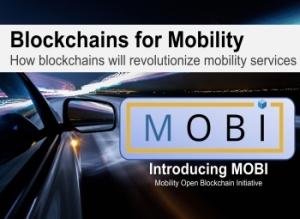 Blockchains for Mobility  - how blockchains will revolutionize mobility service