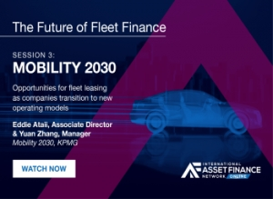 Mobility 2030: The key trends that are reshaping the fleet market for finance providers and end-users