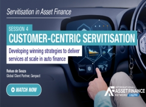 Using artificial intelligence to deliver servitisation in the auto finance market